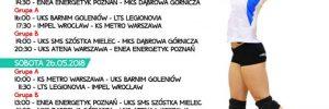 Finał Mistrzostw Polski Młodziczek 25-27.05.2018  Wieliczka