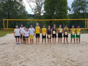 Siatkówka Plażowa Finał KADETA 09.06.2018 Wyniki