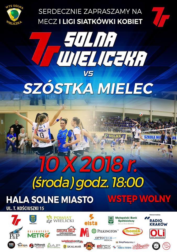 IK 10.10.18 godz.18.00 7R SOLNA Wieliczka - SZÓSTKA Mielec