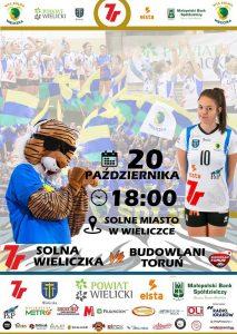 I liga kobiet 20.10.18 godz. 18.00 7R SOLNA Wieliczka – Budowlani Toruń