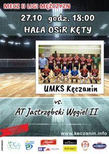 27.10.2018 II Liga Mężczyzn UMKS KĘCZANIN Kęty – AT Jastrzębskiego Węgla