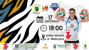 I liga kobiet 17.11.18 g.18.00 7R SOLNA Wieliczka-Energetyk Poznań