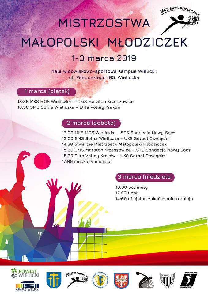 Finały Mistrzostw Małopolski Młodziczek 01-03.03.2019