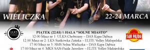 1/4 Mistrzostw Polski Młodziczek 22-24.03.2019 Wieliczka