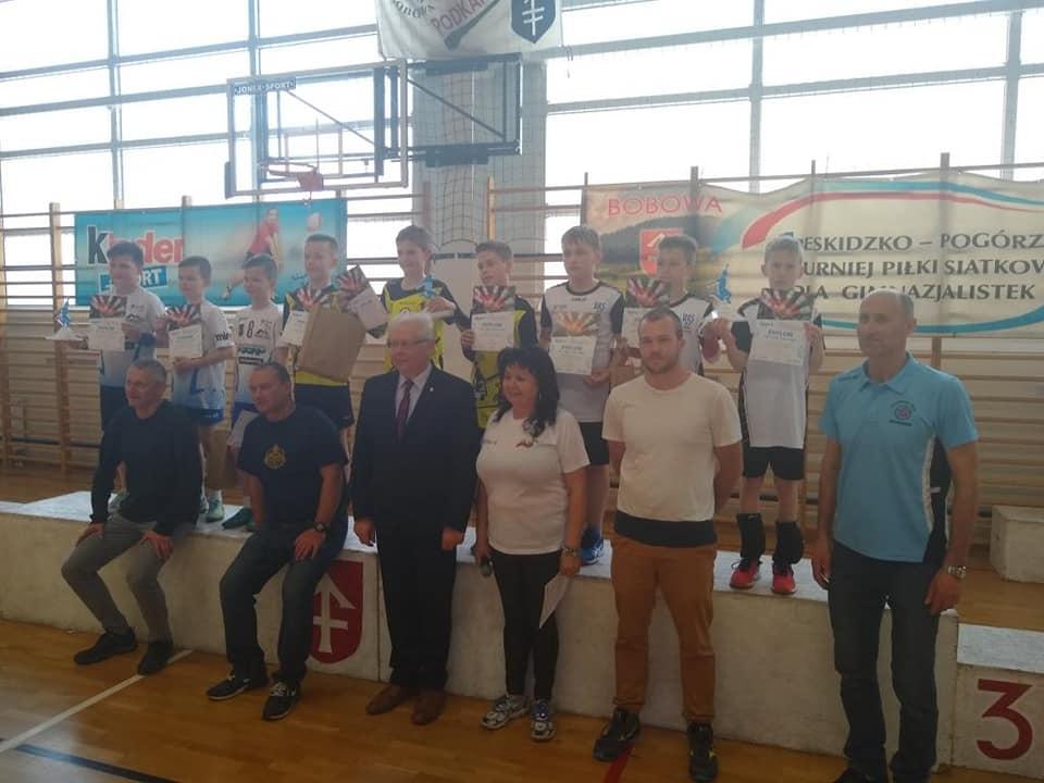 Wyniki finału wojewódzkiego mini siatkówki 2M i 3M Bobowa