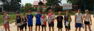Wyniki Finału Mistrzostw Małopolski Młodzików w siatkówce plażowej – Libiąż 15.06.2019 r.