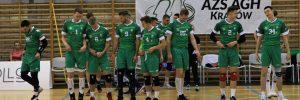 I Liga Mężczyzn 04.01.2020, g.19.00 AZS AGH Kraków – KFC Gwardia Wrocław