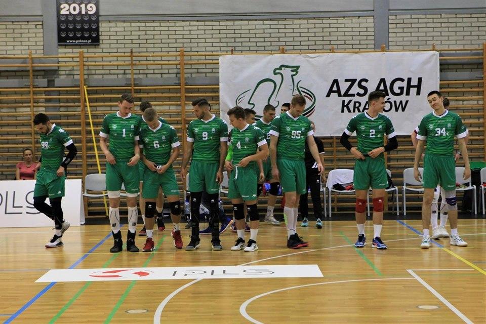I Liga Mężczyzn 04.01.2020, g.19.00 AZS AGH Kraków - KFC Gwardia Wrocław