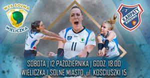 I Liga Kobiet 12.10.2019 g. 18.00 7R SOLNA Wieliczka  –  KARPATY MOSiR AZS PWSZ Krosno Glass