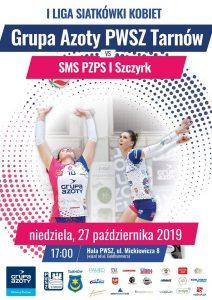 I Liga Kobiet 27.10.2019 g. 17 Grupa Azoty PWSZ Tarnów – SMS PZPS I Szczyrk