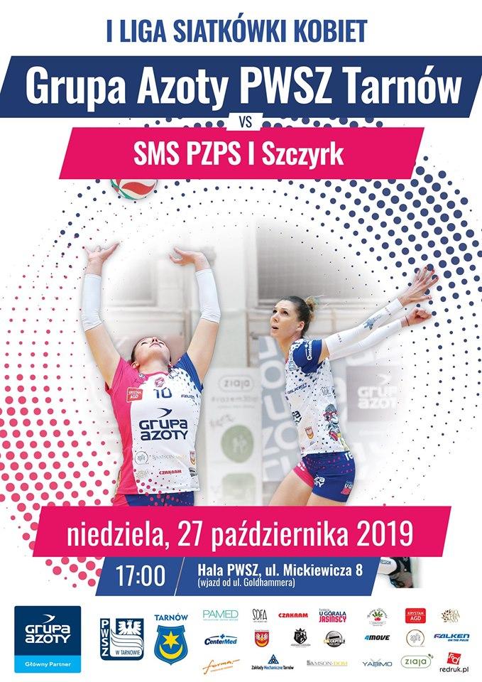 I Liga Kobiet 27.10.2019 g. 17 Grupa Azoty PWSZ Tarnów - SMS PZPS I Szczyrk