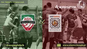 I Liga Mężczyzn 21.11.2019 g.18 AZS AGH Kraków -APP Krispol Września