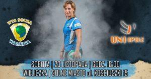 I Liga Kobiet 23.11.2019 g.18 7R SOLNA Wieliczka – UNI Opole