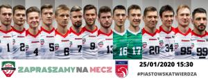 I Liga Mężczyzn 25.01.2020 g.15.30 AZS AGH Kraków – SMS PZPS Spała
