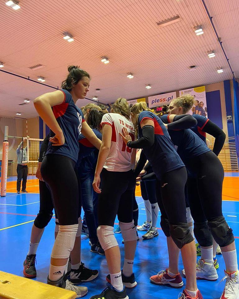 II Liga Kobiet 25.01.2020 g.14 TS Wisła Kraków - TKS Tomasovia Tomaszów Lubelski