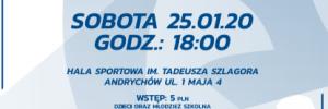 II Liga Mężczyzn 25.01.2020 g.18 MKS Andrychów- TS Volley Rybnik
