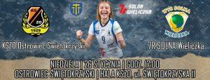 I Liga Kobiet 01.02.2020 g.18 7R SOLNA Wieliczka – JOKER MEKRO ENERGOREMONT Świecie