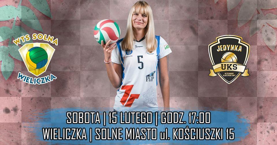I Liga Kobiet 15.02.2020 g. 17.00 7R SOLNA Wieliczka - GRUPA AZOTY PWSZ Tarnów