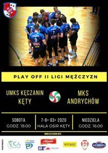 II Liga Mężczyzn 7-8.03.2020 Play- off UMKS Kęczanin Kęty – MKS Andrychów