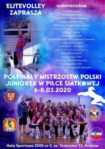 Transmisja Półfinałów Mistrzostw Polski w Piłce Siatkowej K