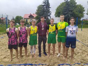 Finał Mistrzostw Małopolski kadetów w siatkówkę plażową