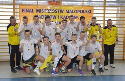 Mistrz Malopolski Kadetow w sezonie 2017 2018 SKPS DUNAJEC Nowy Sacz